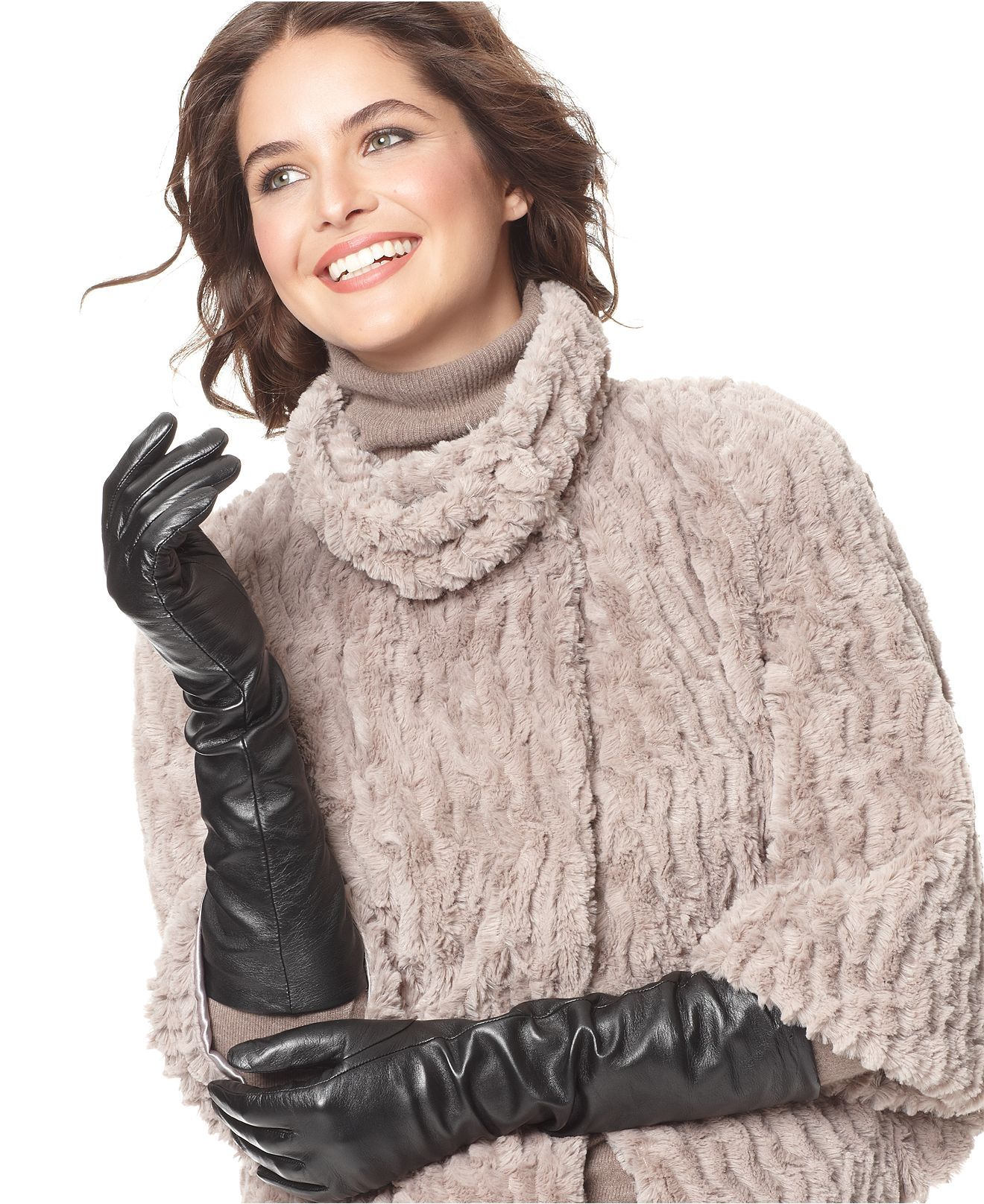 Leather driving gloves macys - Charter Club Gloves Long Leather Gloves Scarves Wraps Handbags Accessories Macy S