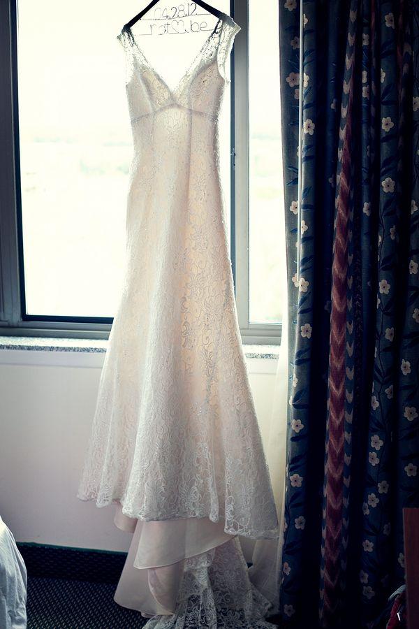 Handmade, lace wedding dress from Natalie & Joe\'s Traditional ...