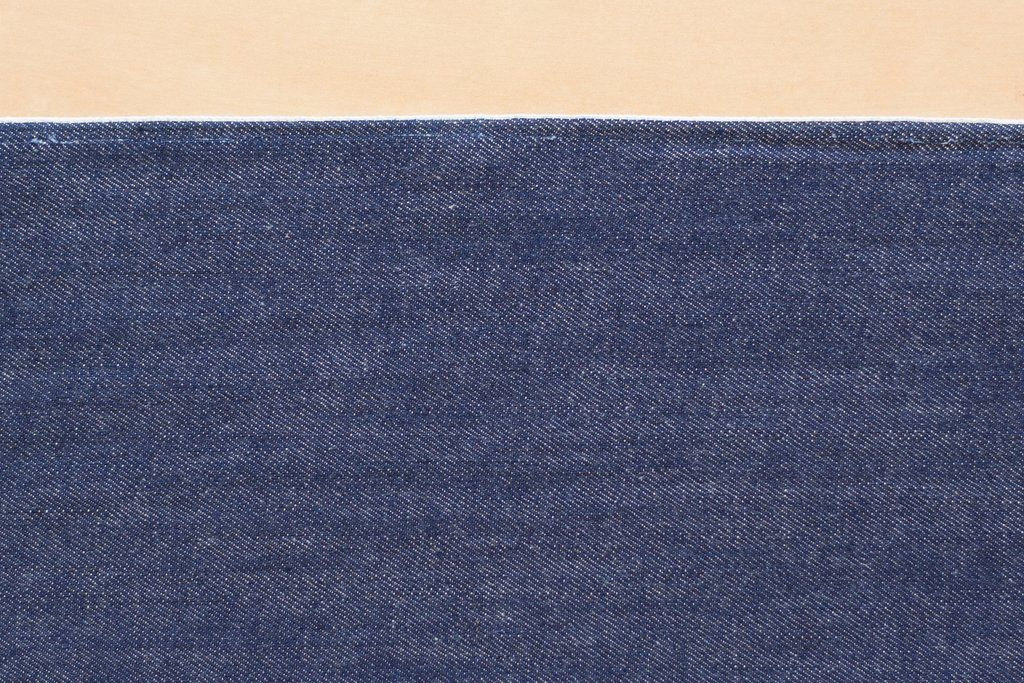 10 Oz Cone Mills Selvage Denim In Medium Indigo 1 2 Yard Selvage Denim Selvage Indigo