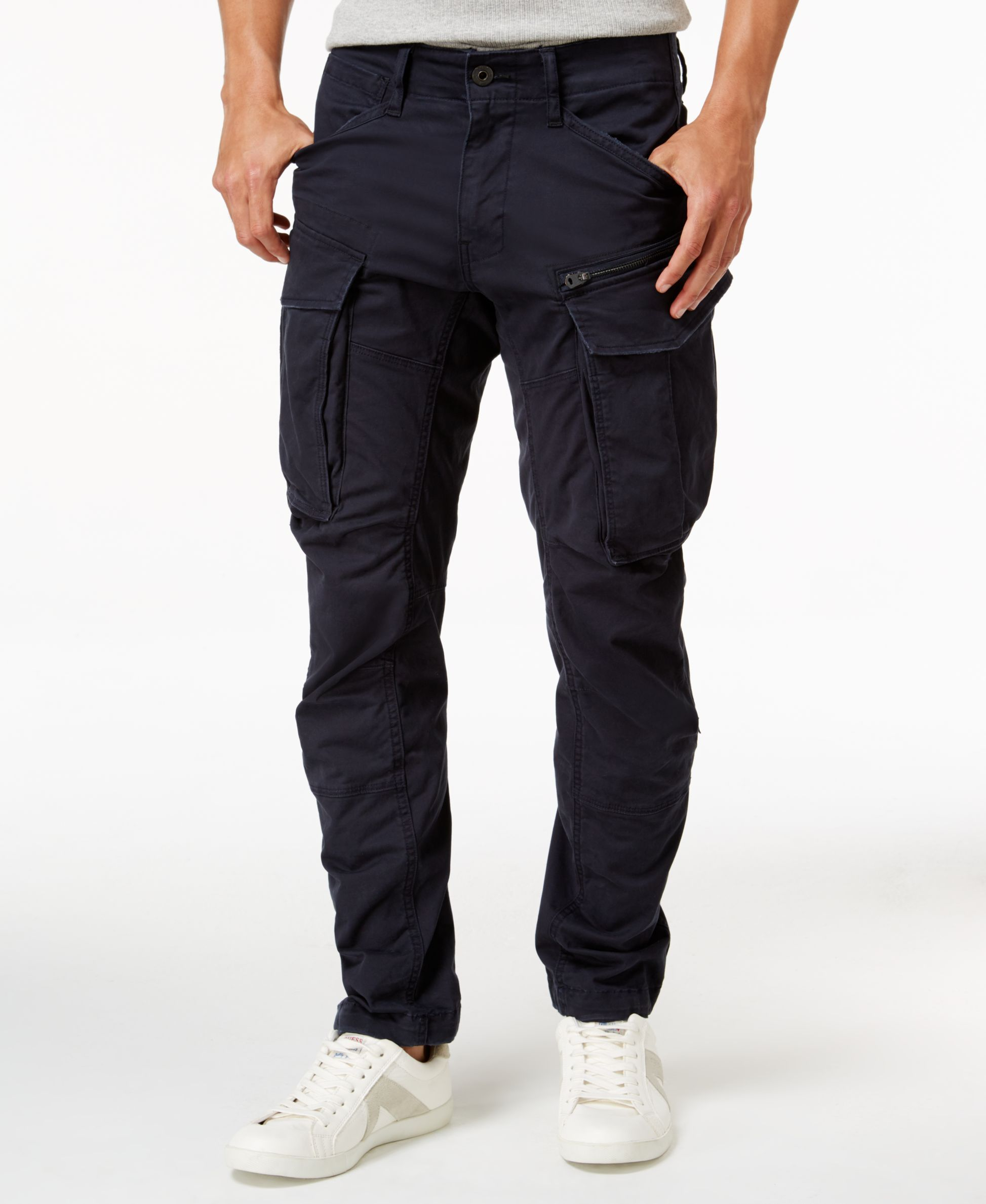 d59c586b0a63 A classic style gets a modern update with these Rovic 3D pants from GStar