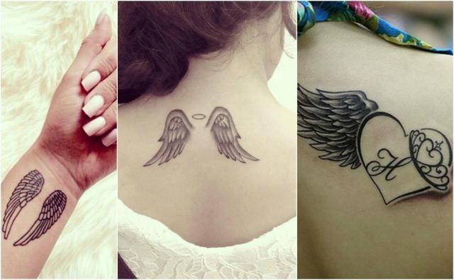 Kobiece Wzory Na Tatuaże Aniołki Galeria Tatuaże
