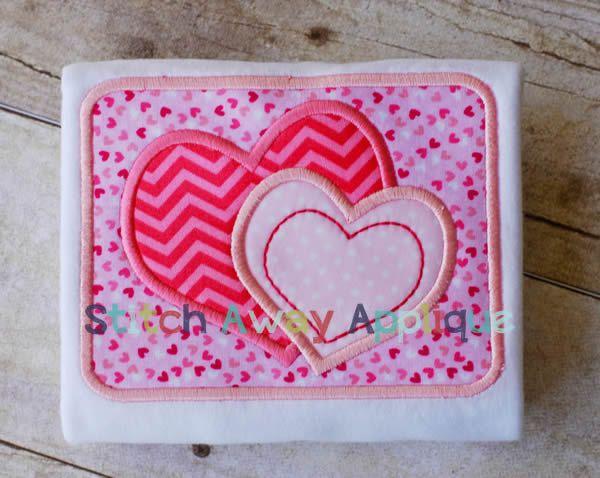 Valentine Hearts Patch
