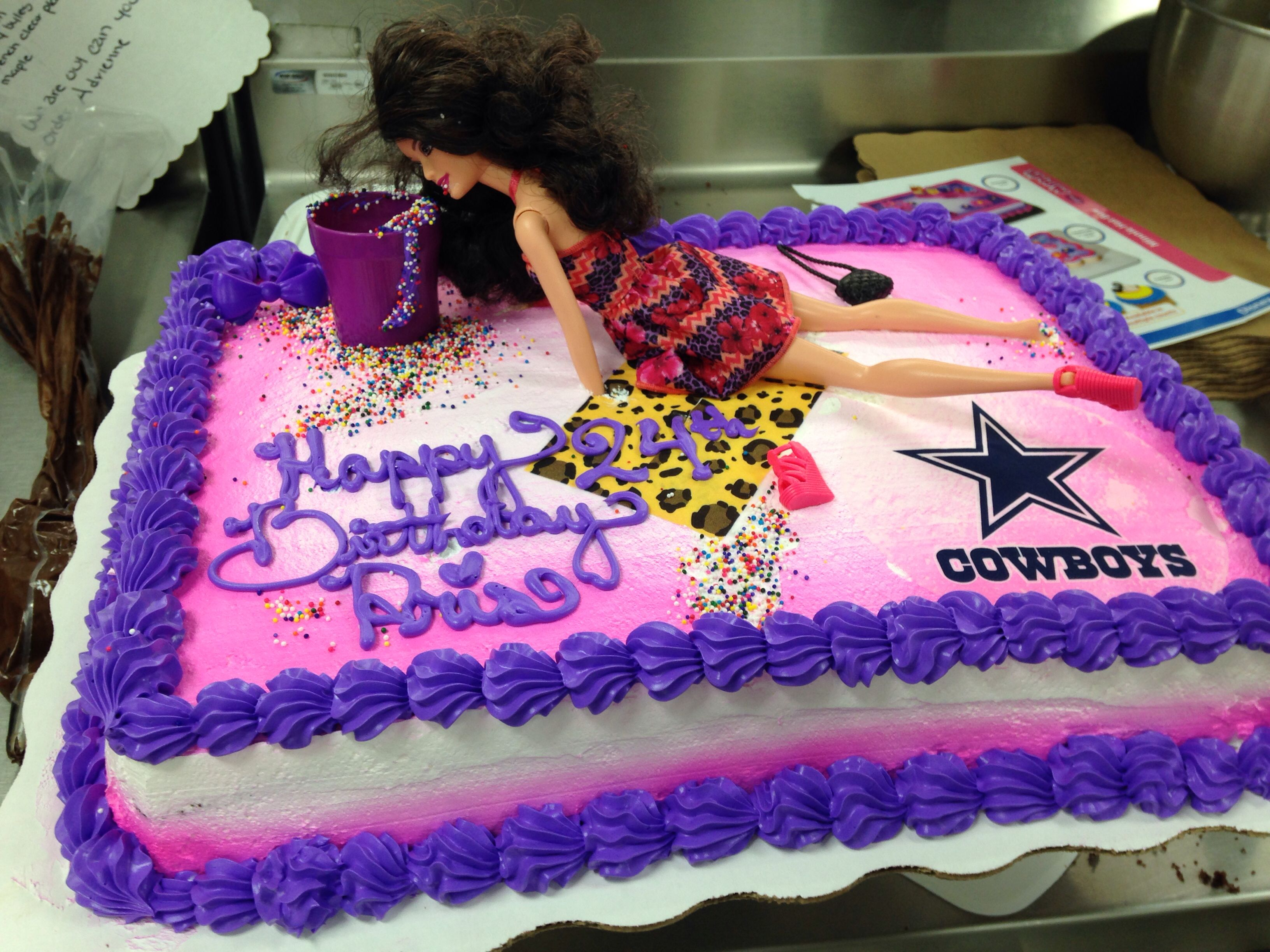 Drunk Barbie Cake Walmart Custom Order