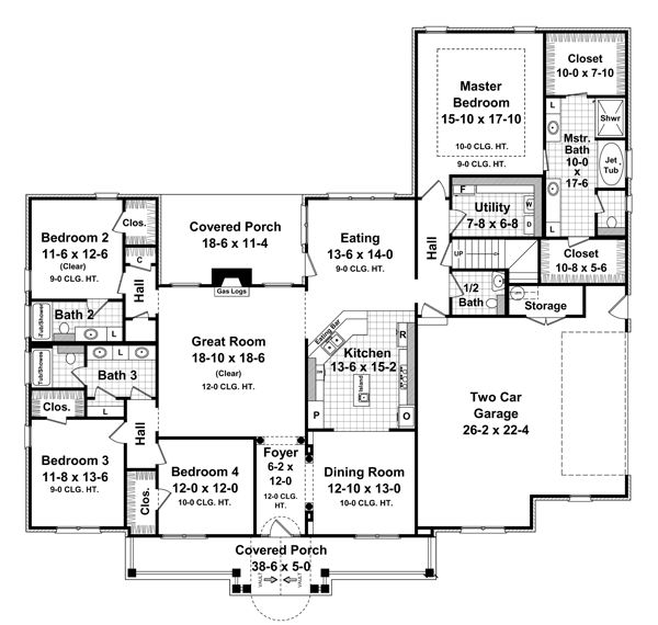 Pin On Dream Home Curb Appeal Floor Plans