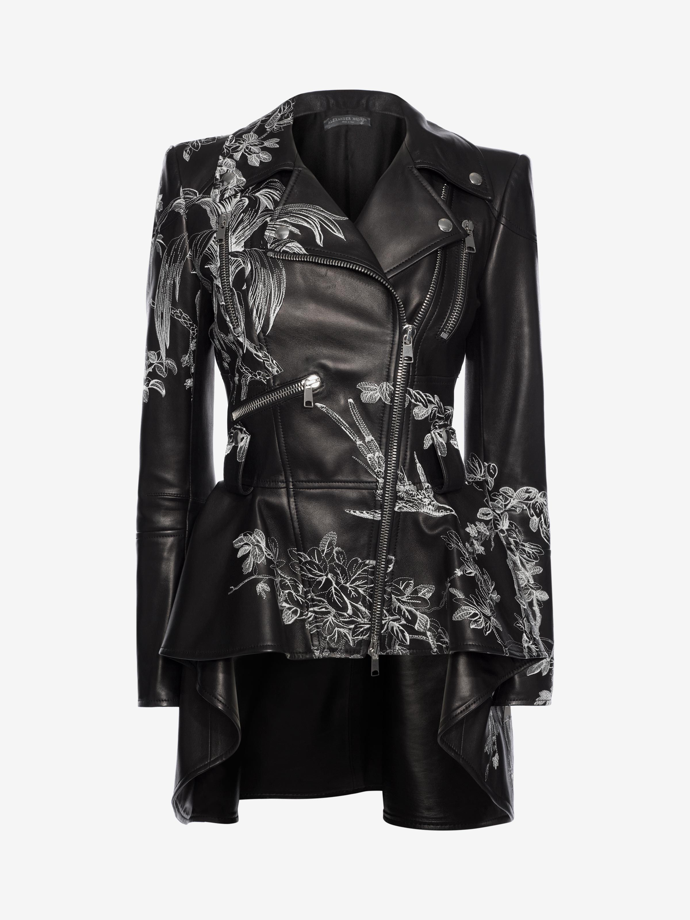 Alexander Mcqueen Leather Biker Jacket - 38   Products in 2018 ... 2b528b7540a