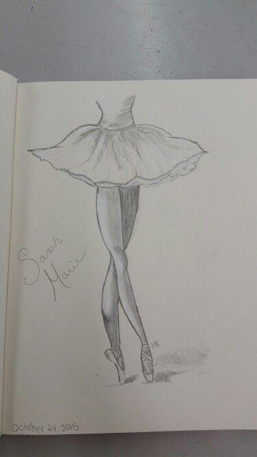 Ballerina Sketch Easy By May Young Con Immagini Disegno Di