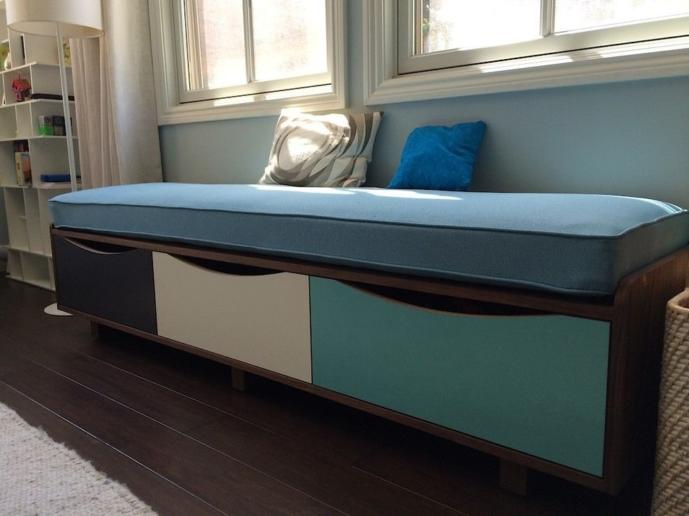 Amazing Upholstered Storage Bench Kids Modern With Abet Laminati Bay Area Furniture  Custom Furniture Custom Made Furniture