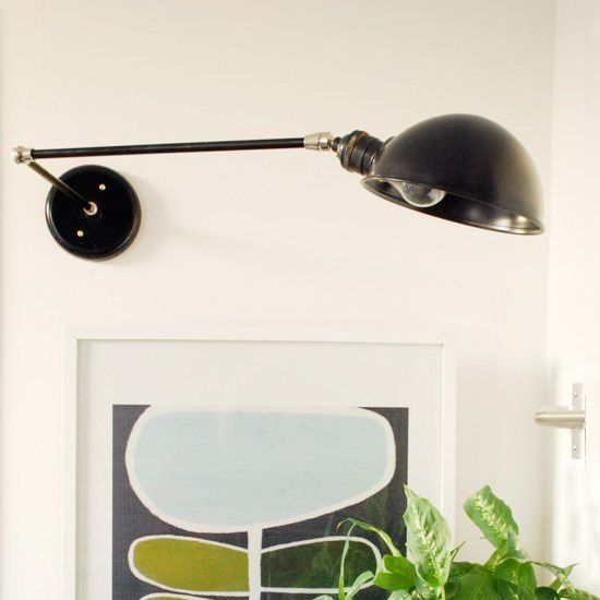 Diy Lighting Project How To Make A Swing Arm Wall Sconce