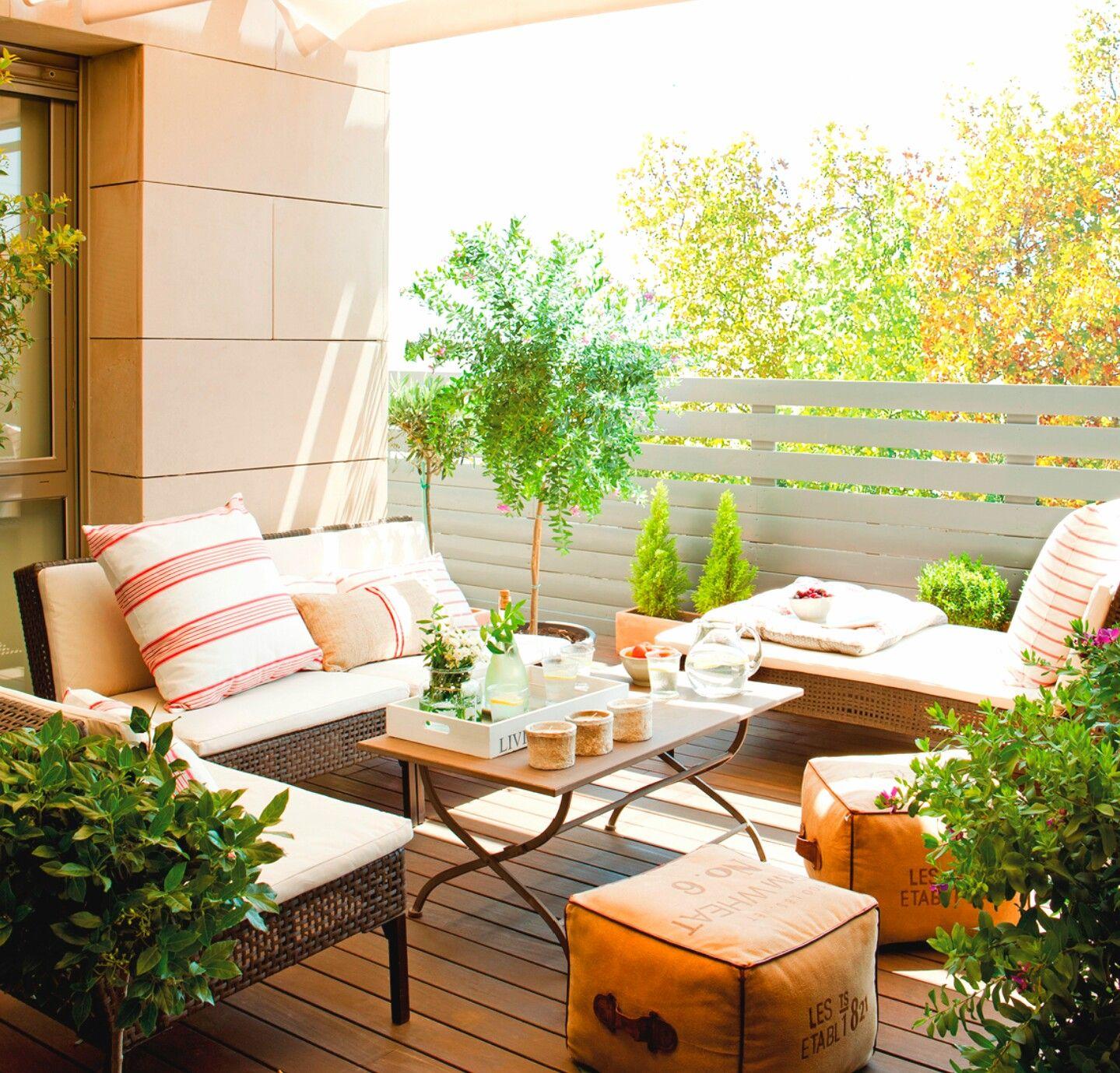 Beautiful Terrace Outdoor Rooms Outdoor Deco Balcony Decor