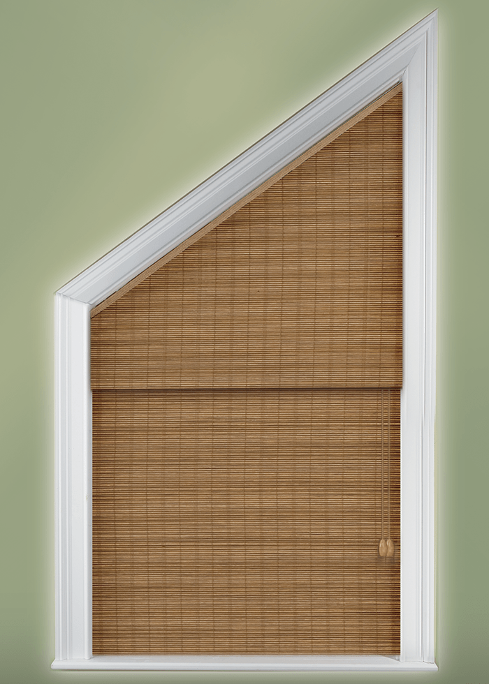 How To Cover Angle Top Angle Bottom And Triangle Windows Blinds
