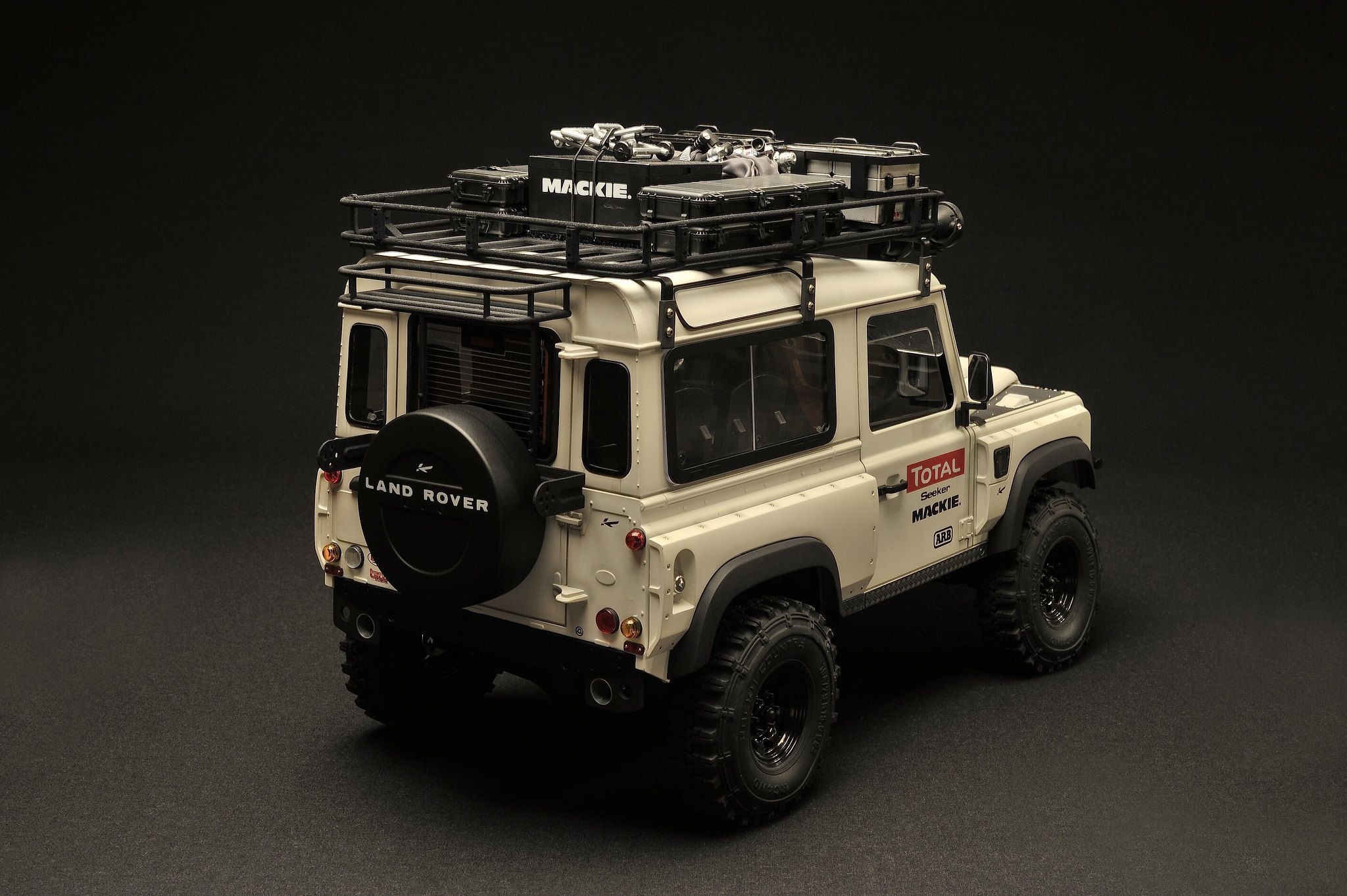 1 10 Scale Rc Scx10 Rc4wd Defender D90 Kahn Design Custom Body