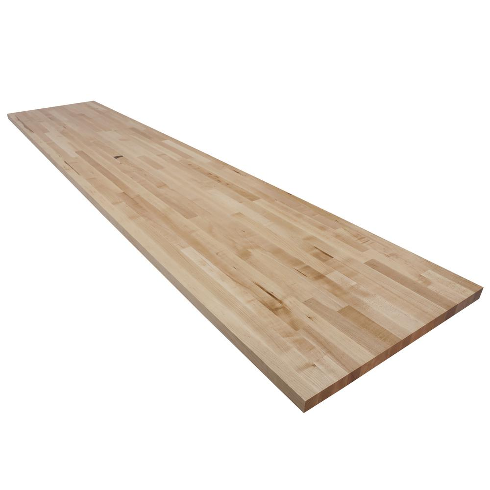 Swaner Hardwood 10 Ft L X 2 Ft 1 In D X 1 5 In T Butcher Block