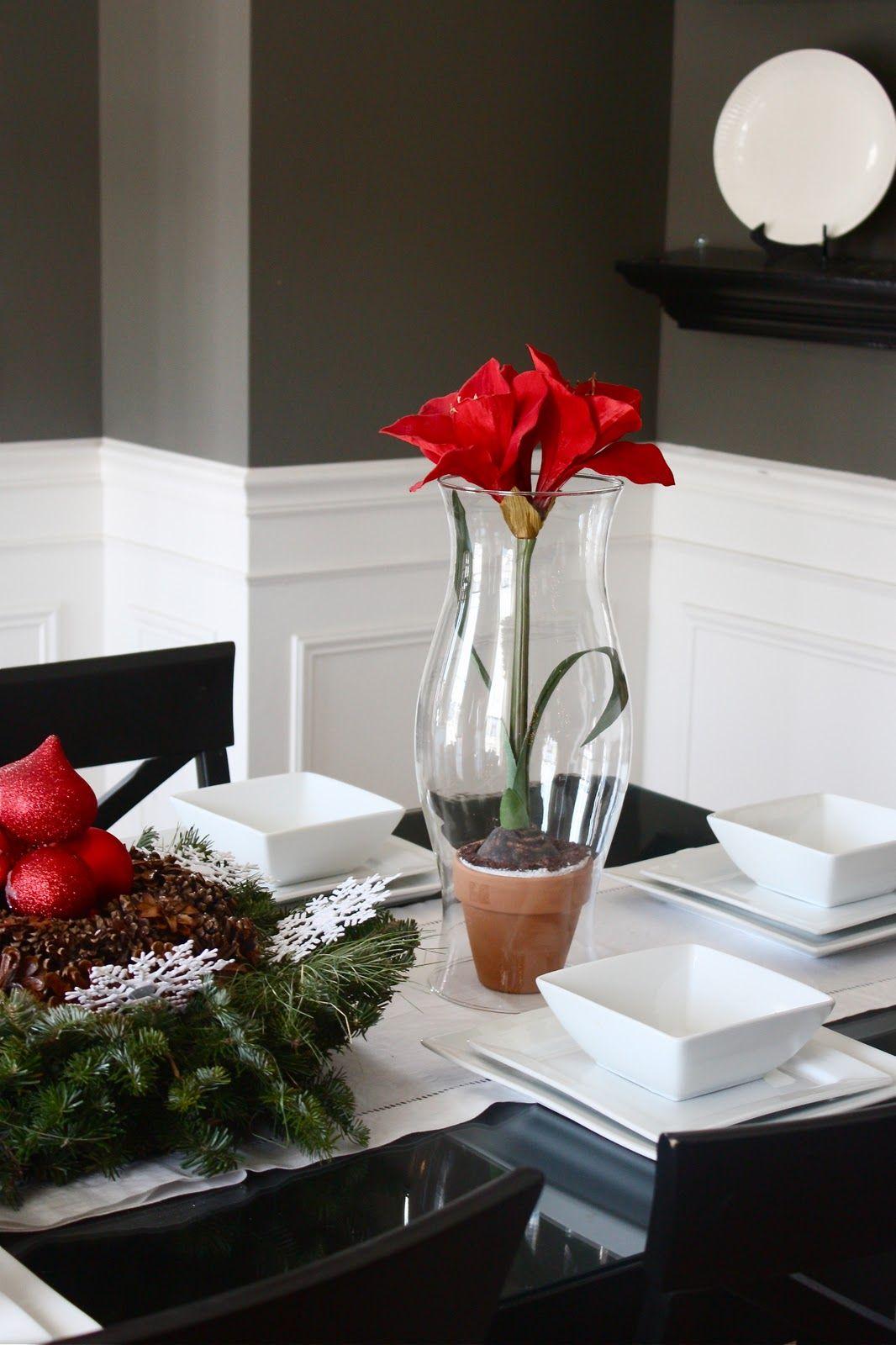 Great table decoration idea
