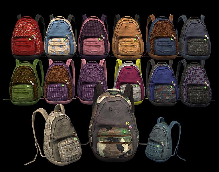 Сумки рюкзаки для sims 2 стирать фоторюкзак