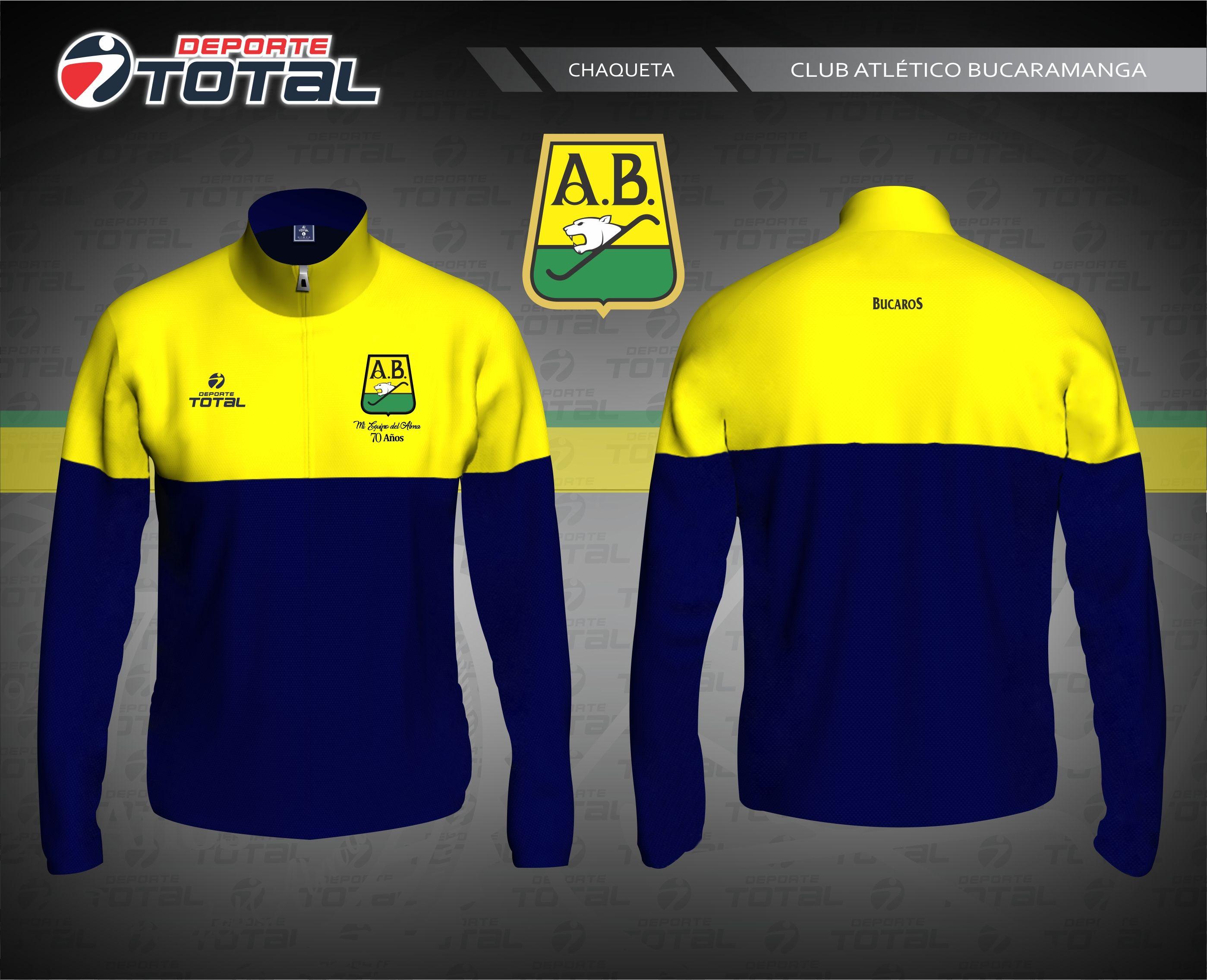 Chaqueta - deporte total-atletico bucaramanga- 2018-camiseta-uniforme-futbol -juego-soccer-diseño-santander-colombia-futbol colombiano-70 años-14 292b0cfa6eeac