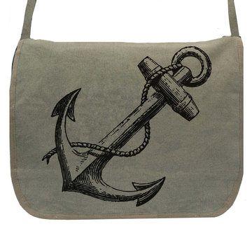Skip N' Whistle: Vintage Anchor Messenger