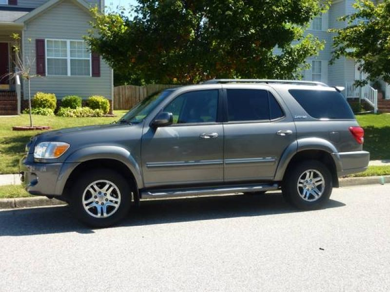 Used 2005 Toyota Sequoia 4WD Limited | Vehicles I want... | Pinterest