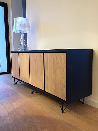 les 25 meilleures id es de la cat gorie buffet chene sur pinterest buffet en ch ne buffet. Black Bedroom Furniture Sets. Home Design Ideas