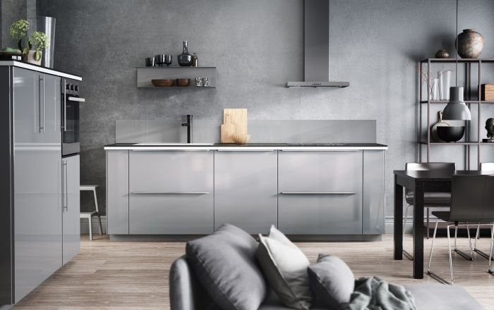 Diy Keuken Ikea : Metod keuken ikea metod keuken grijs modern ikea kitchen