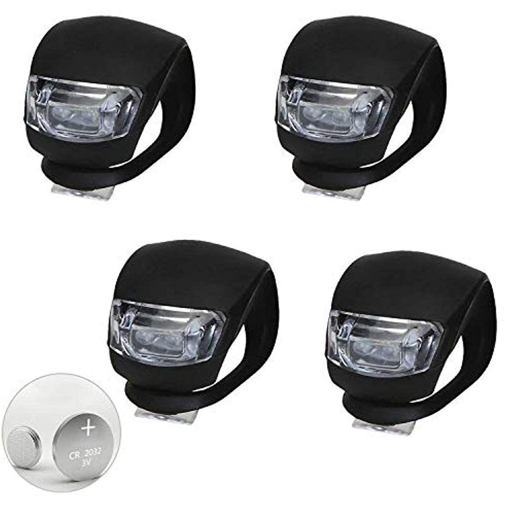 Tomwell Led Lampe Licht Sicherheitslicht Led Kinderwagen Blinklicht Taschenlampe Silikon Leuchte Kinderwagen Baby Kinderwagen Bugg Led Lampe Taschenlampe Led