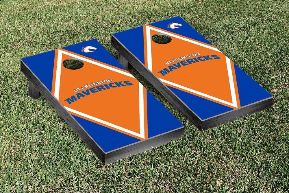 Texas Arlington Mavericks Diamond Cornhole Bag Toss Game