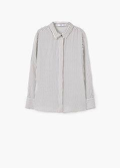 Printed flowy shirt