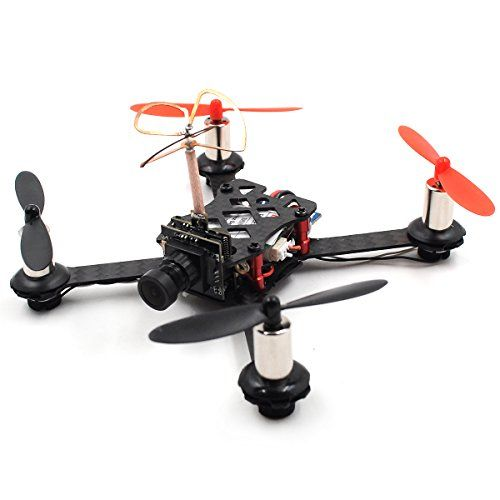 QX110 Indoor FPV Racing Quadcopter Drone Camera 110MM Frame Kit F3 ...