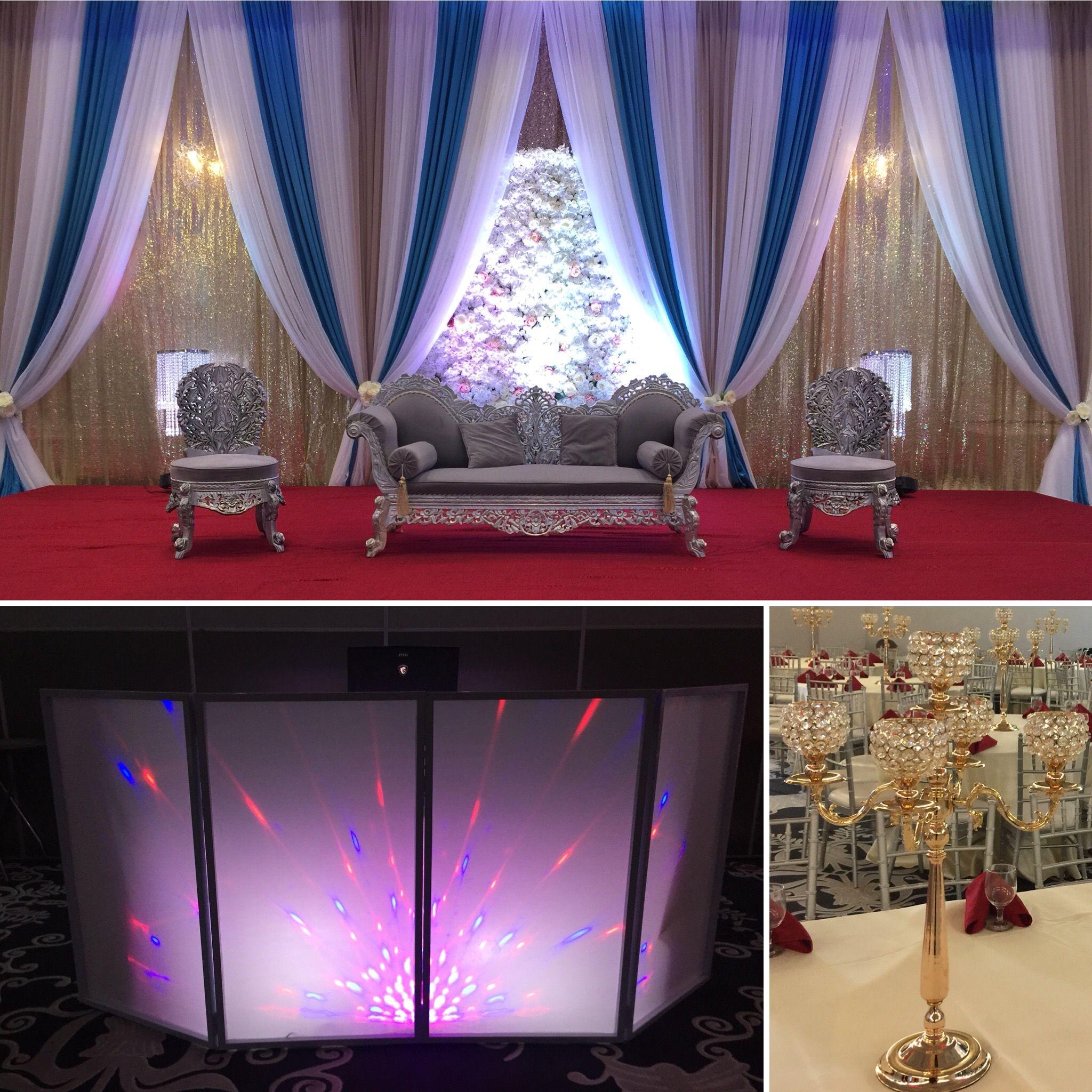 Latest wedding stage decoration  Pin by Shadi Mubarak on Wedding Backdrop  Pinterest