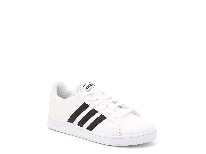 black adidas girls shoes