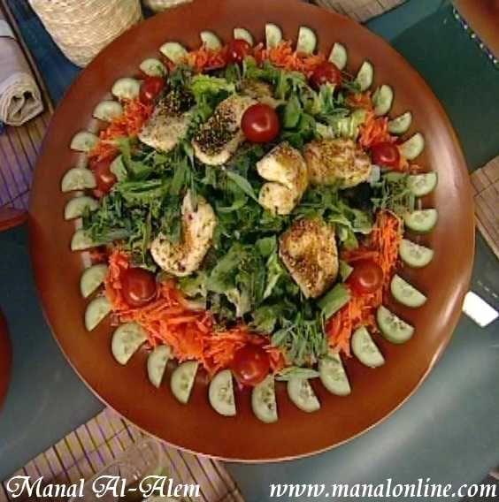 سلطة الحلوم المقلي Recipes Food Arabic Food