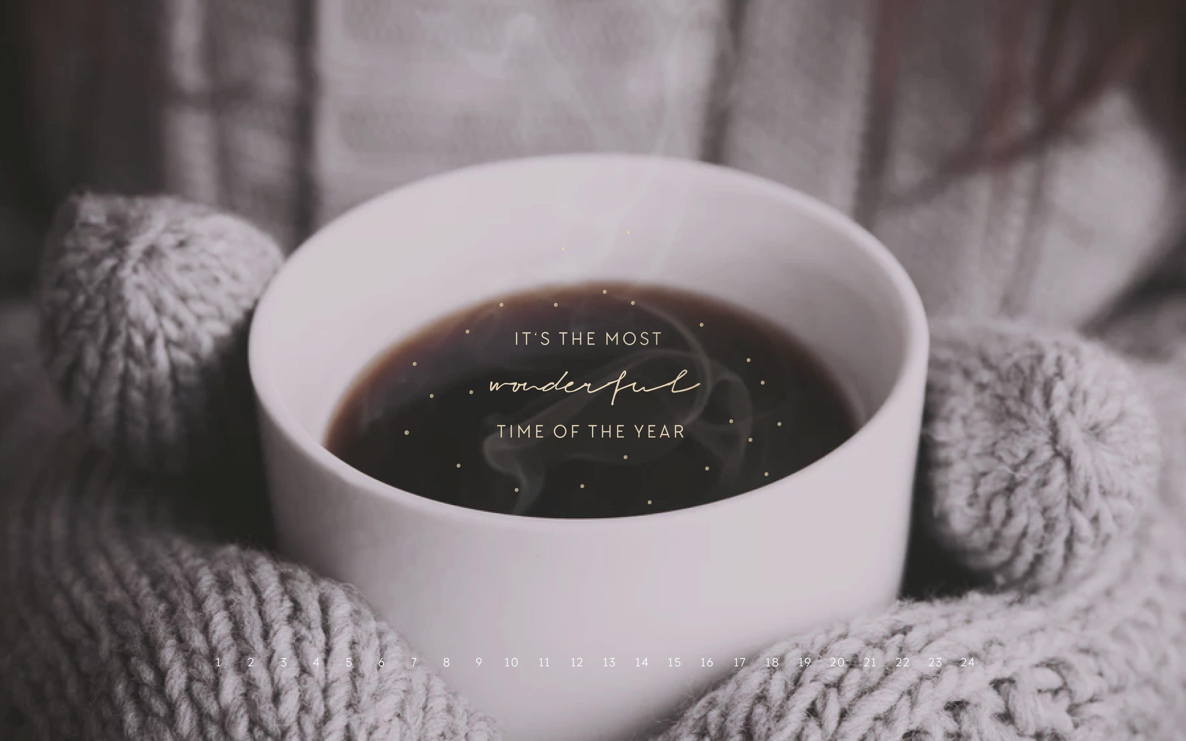 Elegant Coffee Desktop Wallpaper (Dengan Gambar