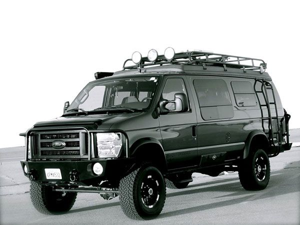 9a8e32d488 Sportsmobile 4WD Ford E-350 vans - Sportsmobile has decades of experience  building heavy-duty 4x4 vans for expeditions. These motor homes are so  capable ...