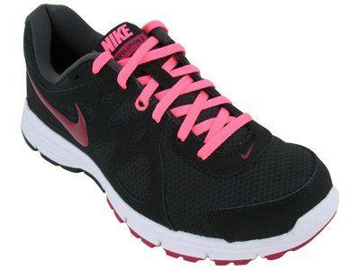 Nike Women's NIKE REVOLUTION 2 WMNS RUNNING SHOES 8 Women US (ANTHRACITE/SPRT FCHS/BLK/WHITE)  #Nike #Shoes