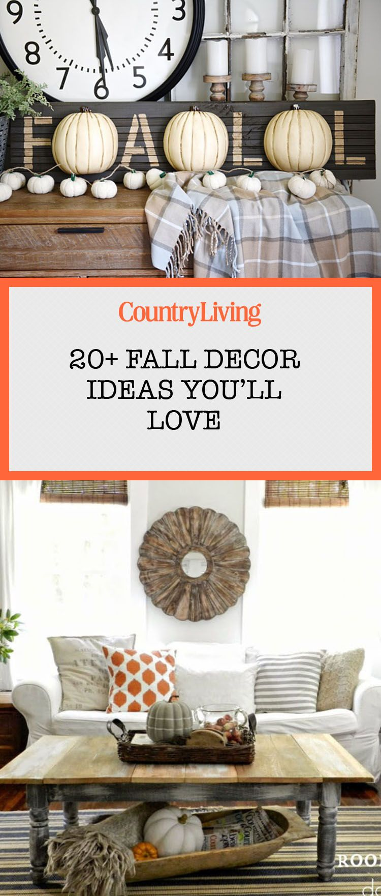 21 Ways to Add Farmhouse Style to Your Home This Fall   Country ...