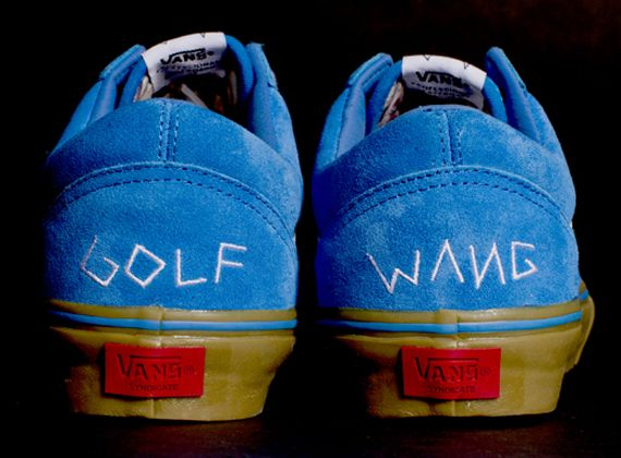6e3c45c2cd9c vans old skool golf wang unveiled Tyler