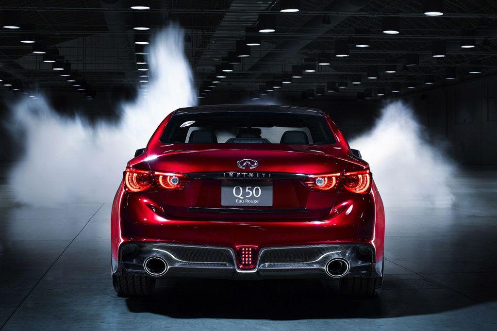 Infiniti Reveals Its HighPerformance Q50 Eau Rouge