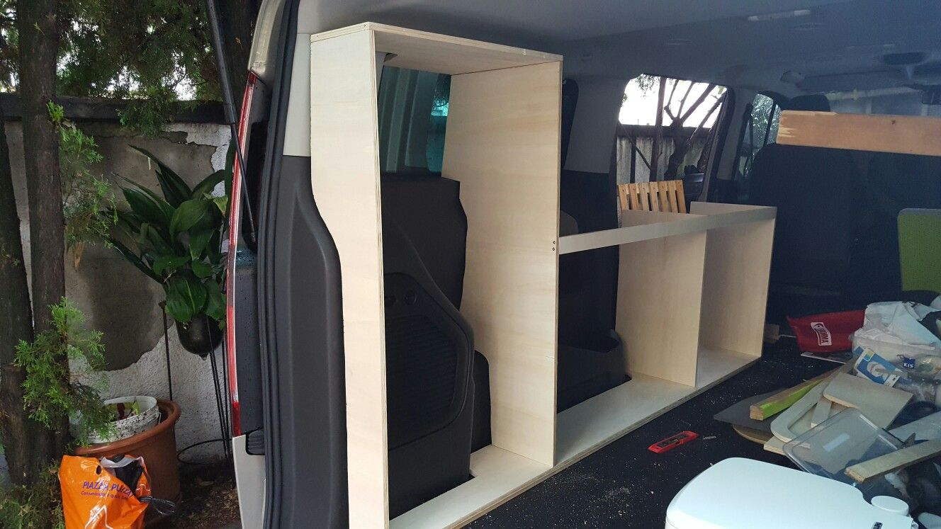 tourneo custom campervan furniture ford tourneo custom. Black Bedroom Furniture Sets. Home Design Ideas