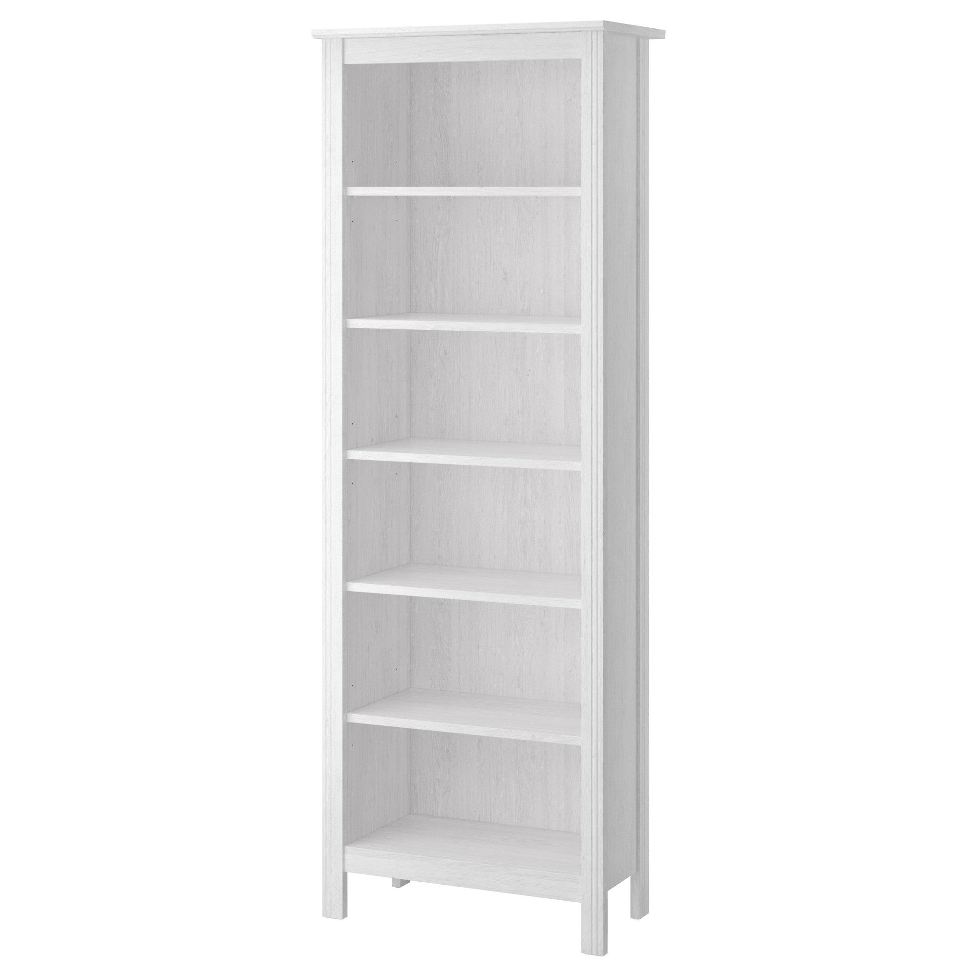 Ikea Us Furniture And Home Furnishings White Bookcase Hemnes Bookcase Ikea Brusali