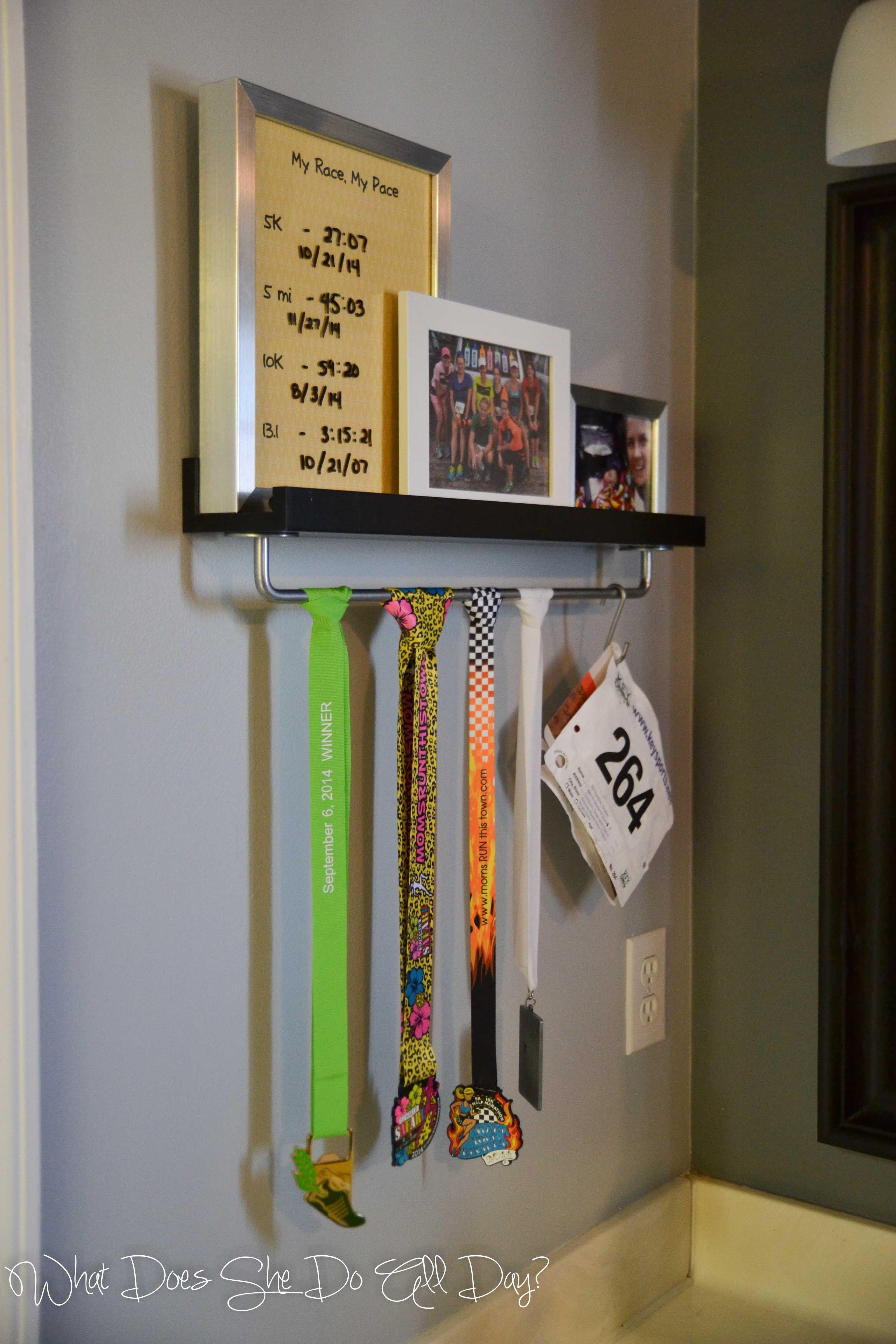 medal pin displaying and display medals running marathons shelf to how marathon