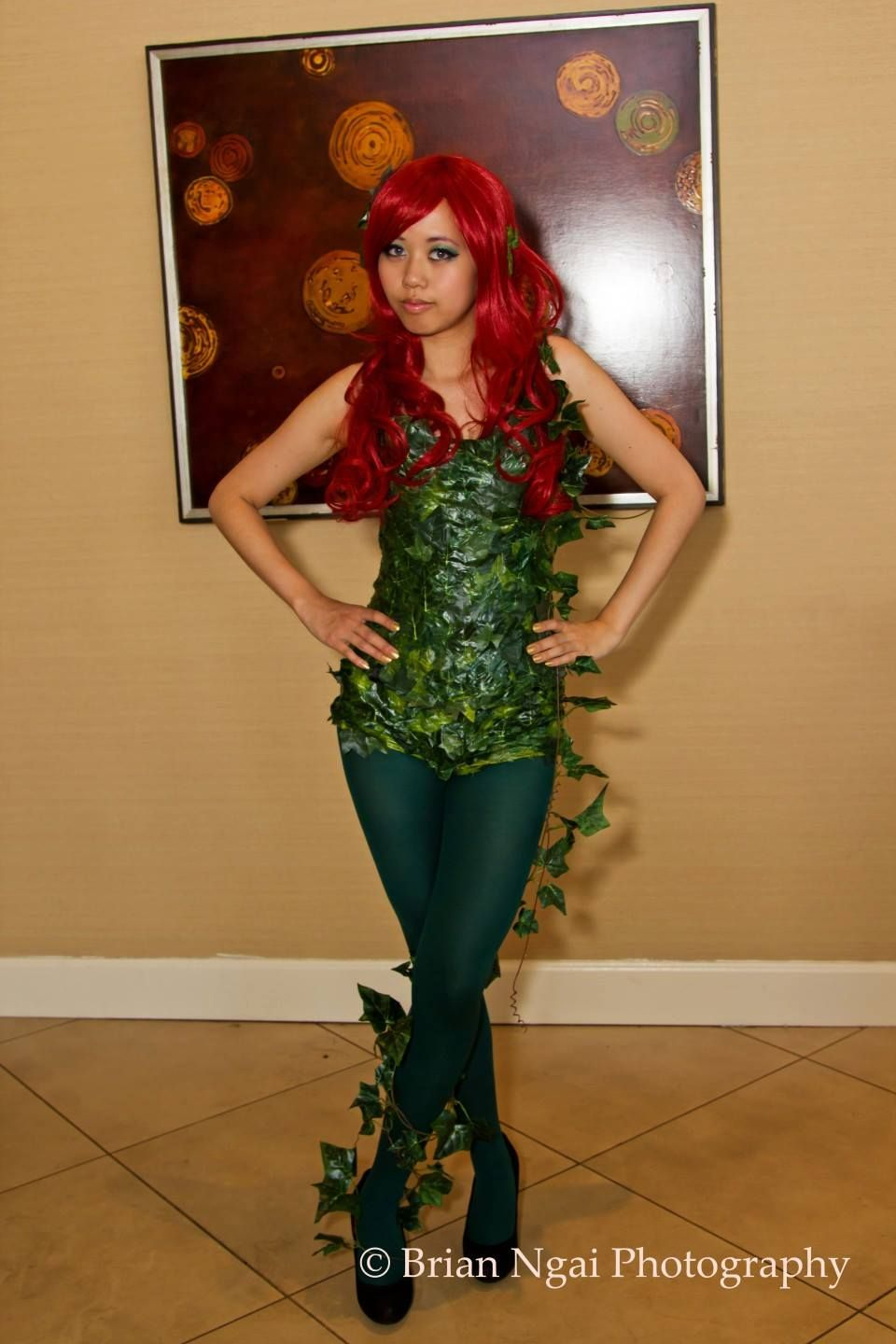 My cute bow cosplay and lifestyle blogger halloween easy poison my cute bow cosplay and lifestyle blogger halloween easy poison ivy cosplay costume and makeup solutioingenieria Image collections