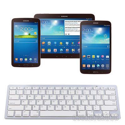 Wireless Bluetooth Keyboard for Samsung Galaxy Tab 2/Tab 3 7.0 10.1 P3200 P5200