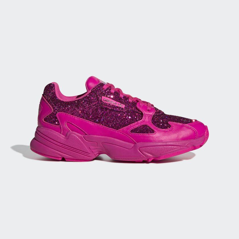 1ac06611248 Falcon Shoes Shock Pink   Shock Pink   Collegiate Purple BD8077