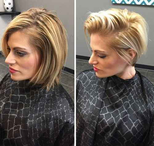 chic short bob hairstyle