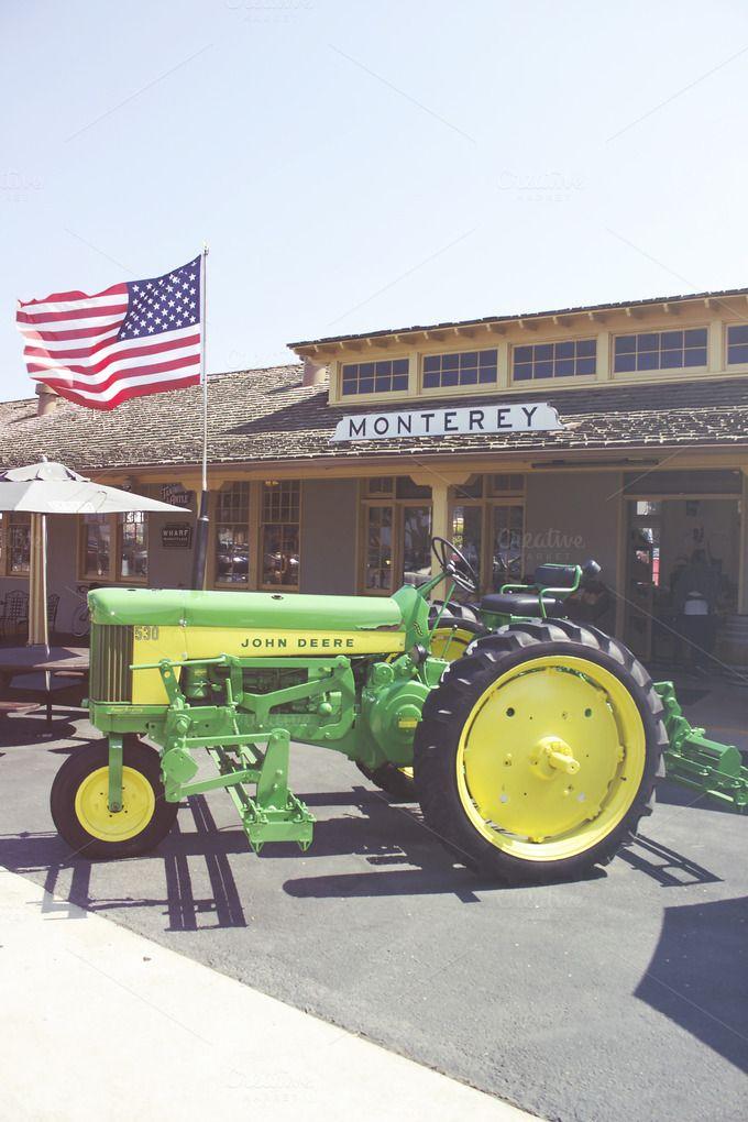 John Deere + Monterey General Store by Gerren Lamson on @creativemarket