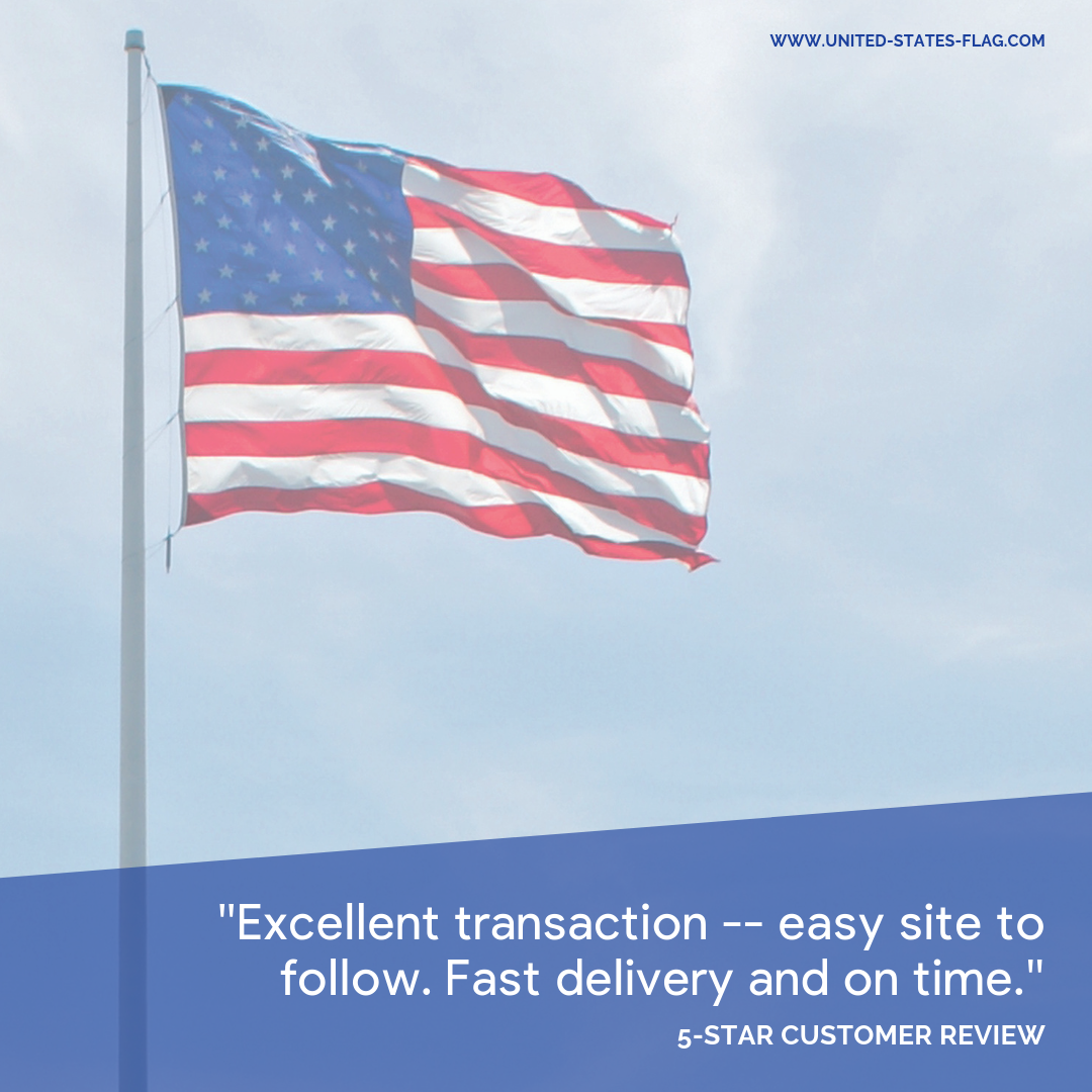 Thank You For Your Review Robert We Take The Feedback From Our Customers Very Seriously Leave Us A Review Flag Store United States Flag Us Flags
