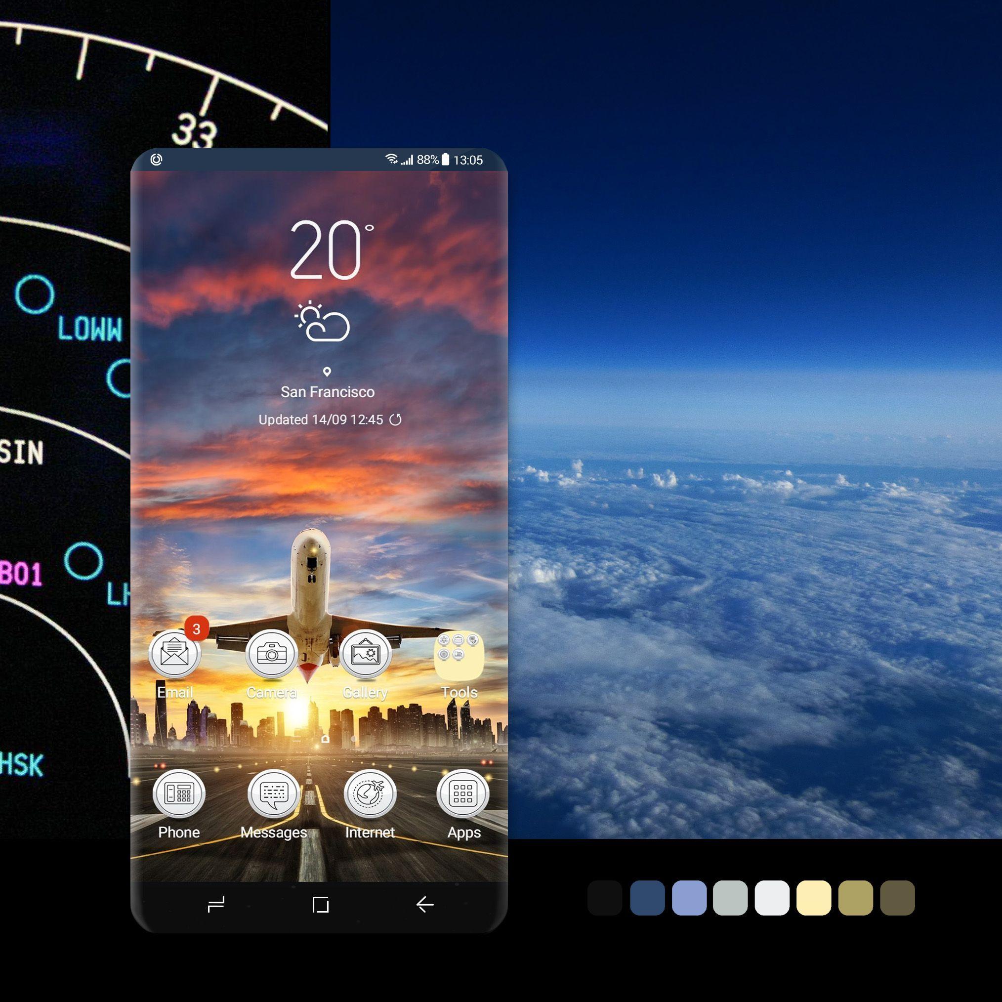 Take Off Galaxy Theme Galaxy Samsung Galaxy