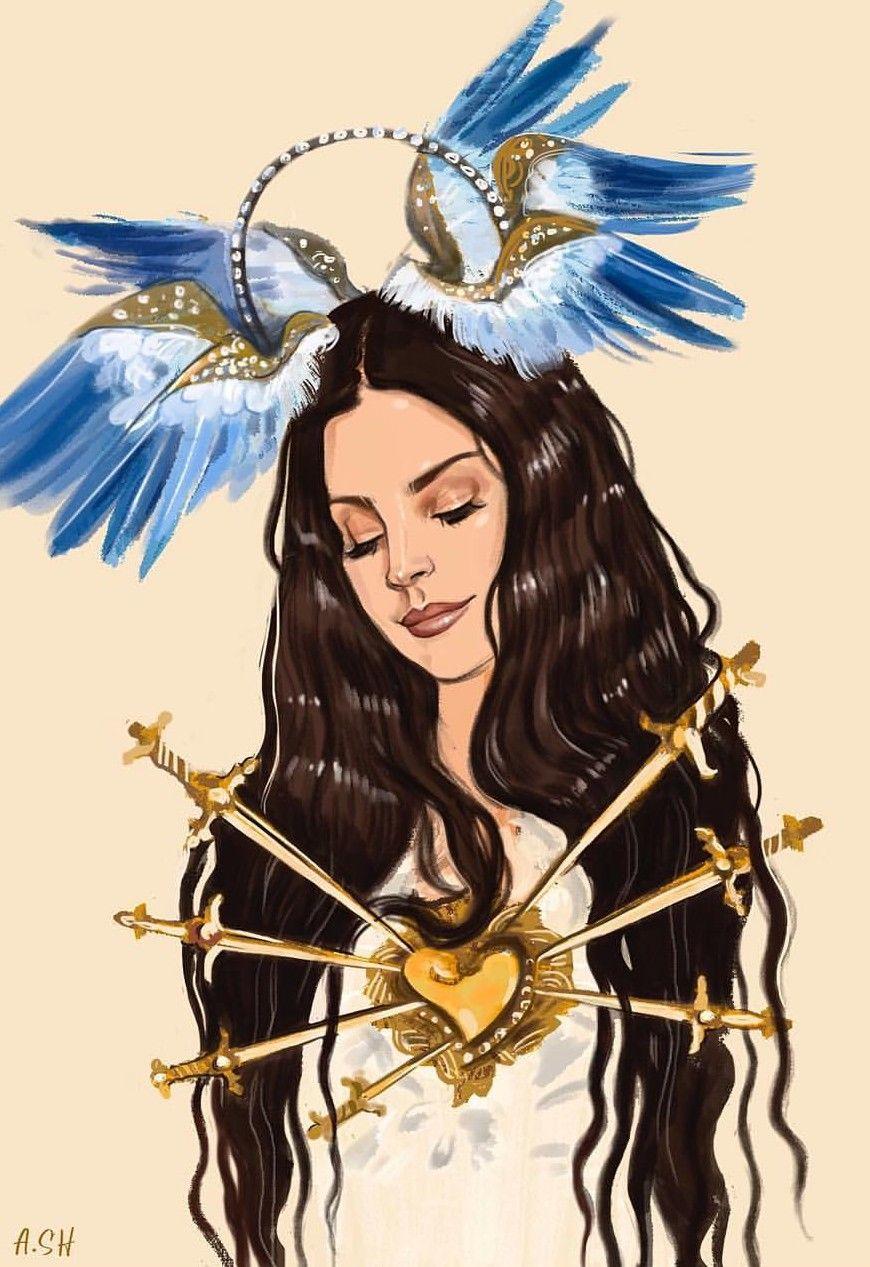 Lana Del Rey Art By Arthur Shahverdyan Lana Del Rey Art Pop Art Girl Art Girl
