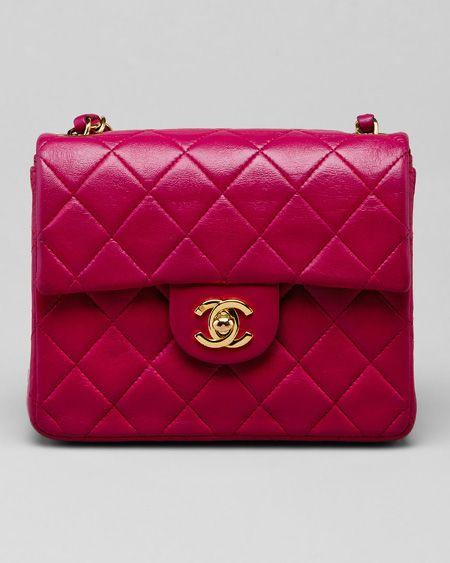 afa4b3306f6 so precious. raspberry red Chanel in the size Mini. perfect ...