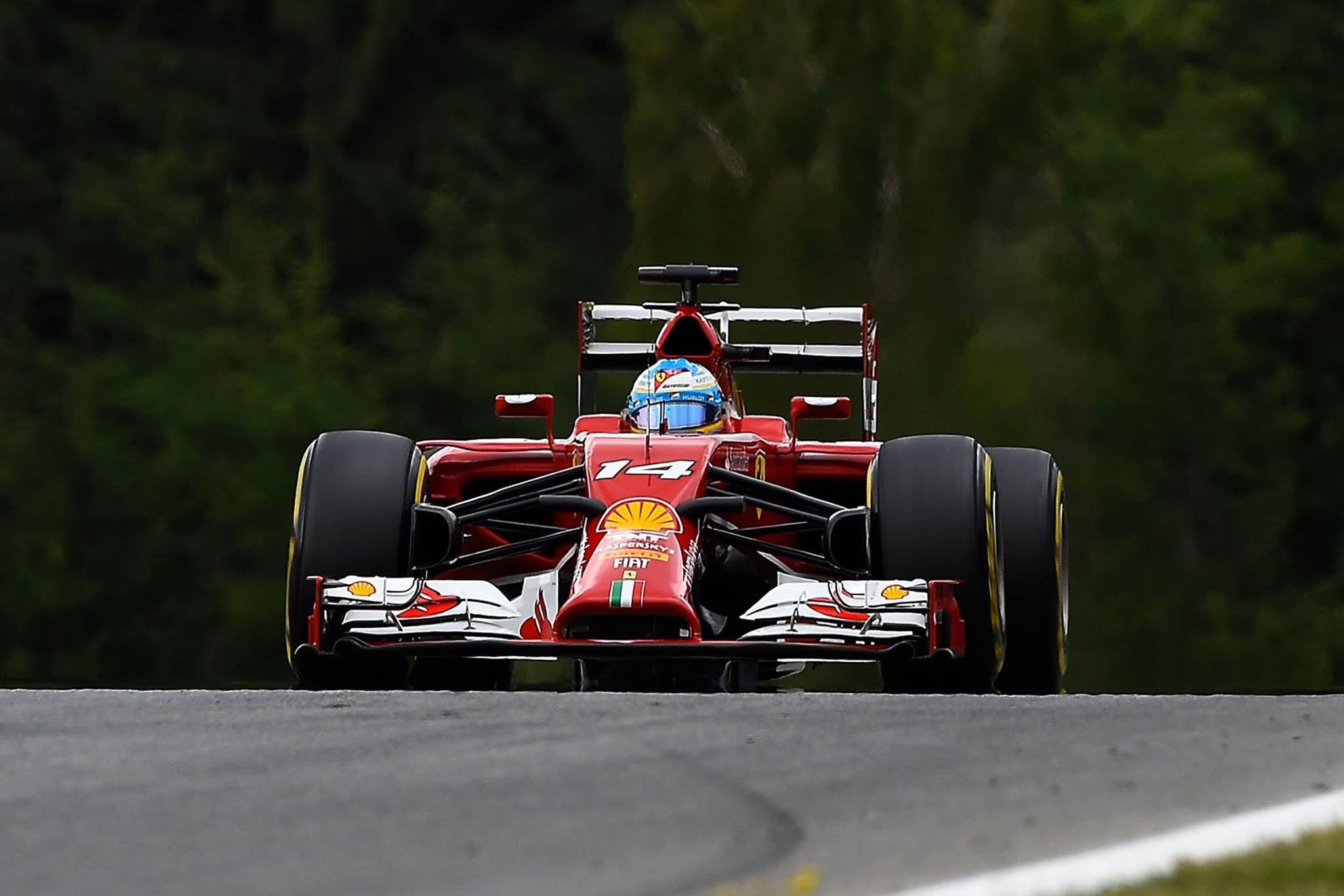 Ferrari F14-T.