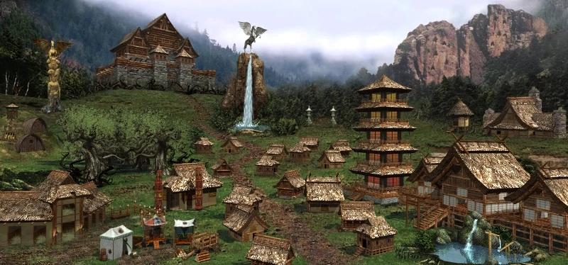 Rampart Might And Magic Wiki Fandom Powered By Wikia Fantasy Castle Magic Castle Hero
